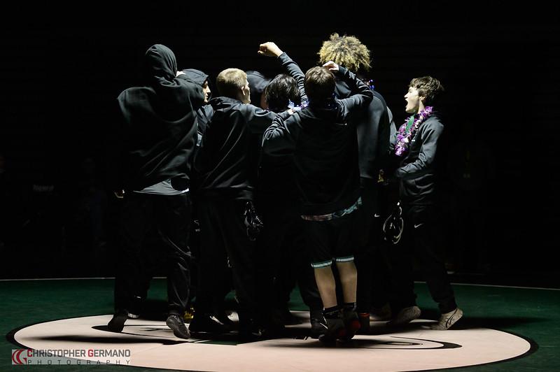 THS Wrestling vs West Linn