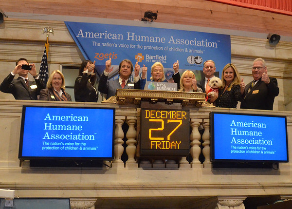 Dec 27, 2013-A media day with the American Humane Association