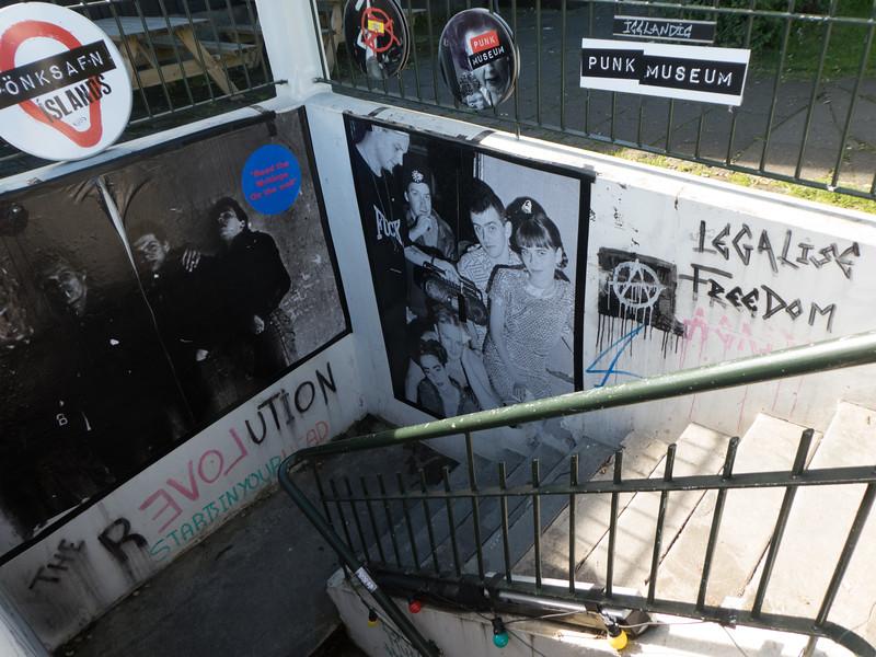 Punk Museum. Reykjavik