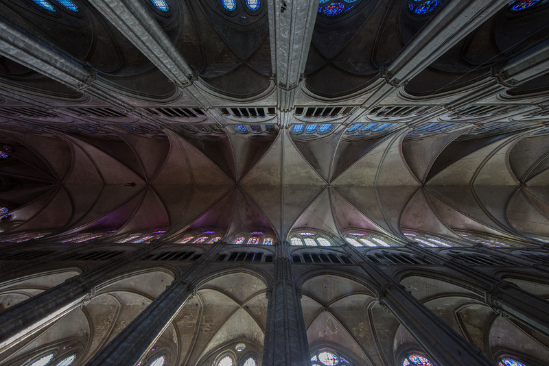 Bourges, Saint Stephen Cathedral Vaults