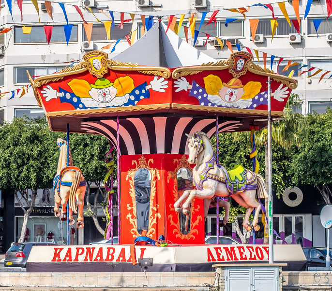 Carousel in Limassol, Cyprus