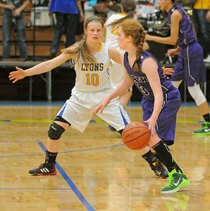 Downers Grove North at Lyons Township girls basketball