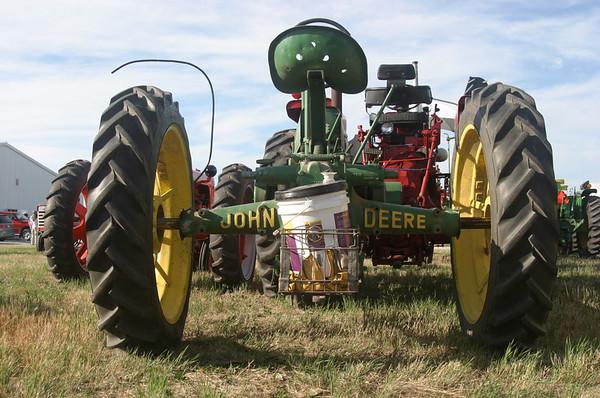 Tractors -- Green