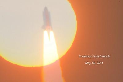 Final launch of Endeavor