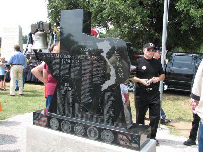 Ranger, Texas Vietnam Memorial Dedication - 08/11/2017