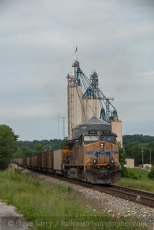 Union Pacific (on KCS) Anderson, Missouri June 15, 2014