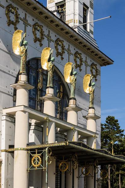 Kirche am Steinhof, Vienna (Otto Wagner)