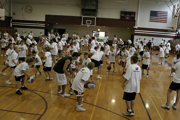 Tomorrow's Stars Basketball Clinic - Part 2