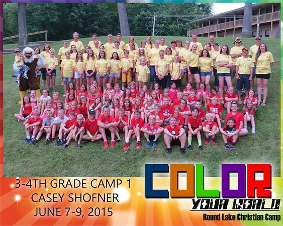 3-4th Grade Camp 1