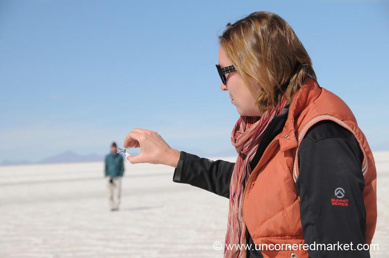 I'm Clipping Your Head - Salar de Uyuni, Bolivia