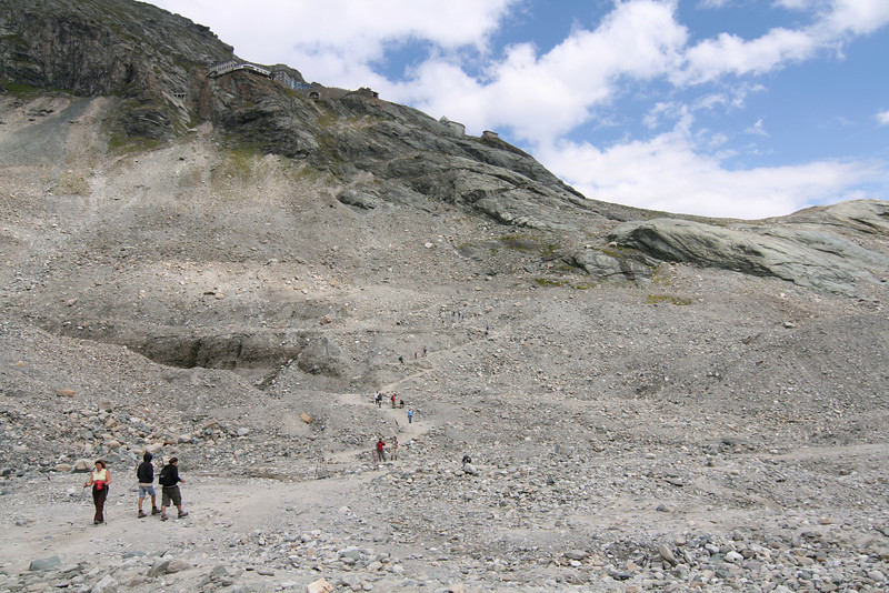 National Park Hohe Tauern. Grossglockner & Pasterze Glacier