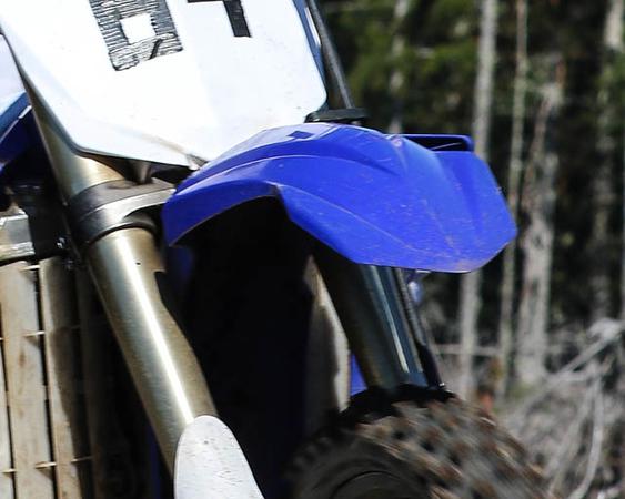 Blue Fenders
