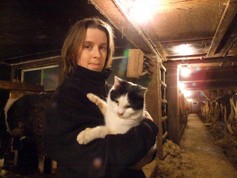 ellen and cats