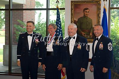 Scott AFB SNCO Induction Ceremony