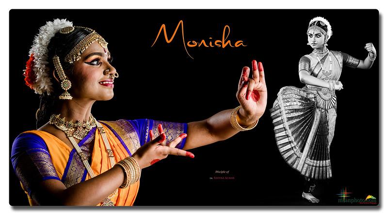 Monisha's Pre-Arangetram Portraits 2021