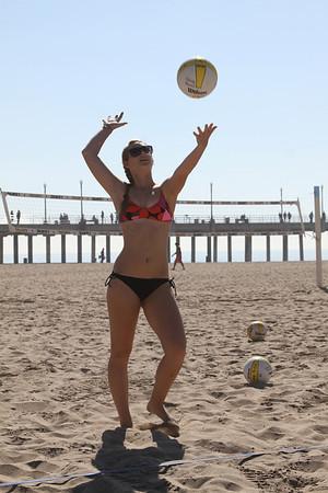 Kacey & Dani Beach VB at HB