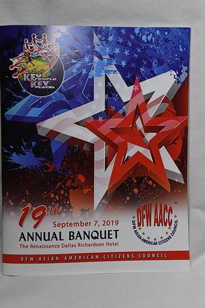 9-7-2019 DFW AACC 19th Annual Banquet @ Renaissance Dallas Richardson Hotel
