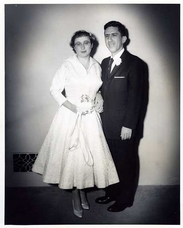 OUR WEDDING NOV1 1959