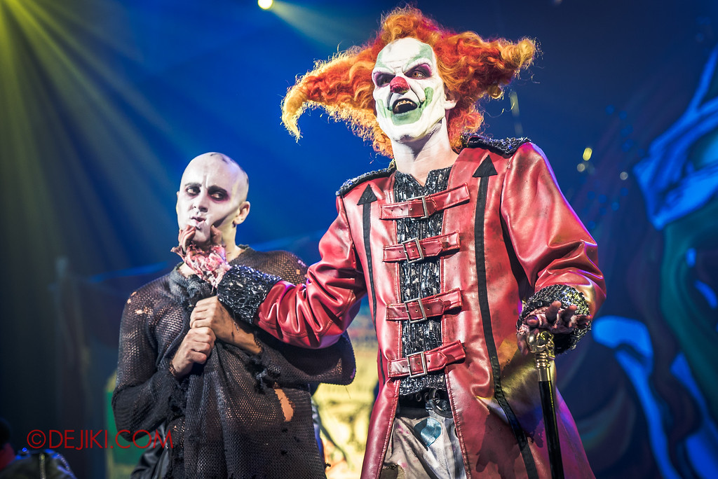 Halloween Horror Nights 6 - Jack's Recurring Nightmare Circus / Jack grabs the Boy