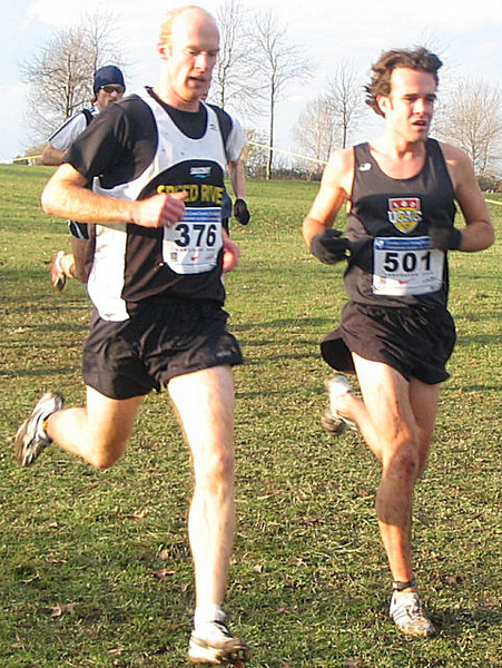 2005 Canadian XC Championships - Taylor Murphy and Andrew Alley