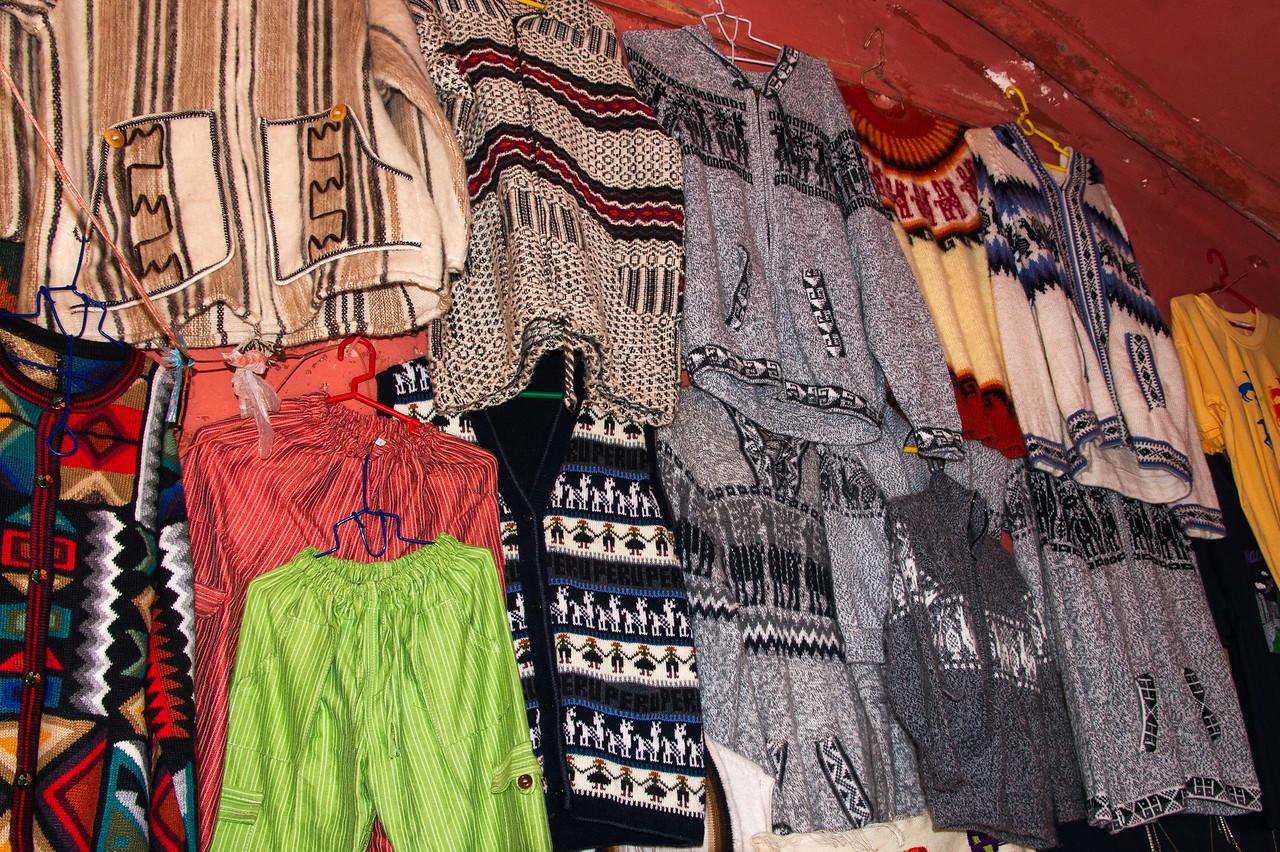 Even remote Maras had some tourist items.