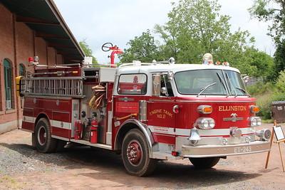 Apparatus shoot - CT Trolley Museum Fire Brigade