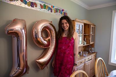 2018 - Sarah's 19th Birthday