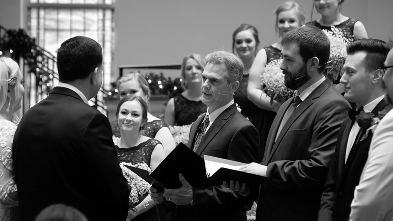 The Ceremony (selected b&w)