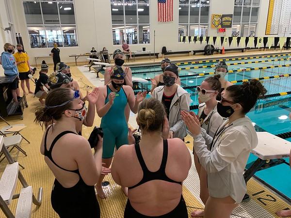 210227 Women's Swimming