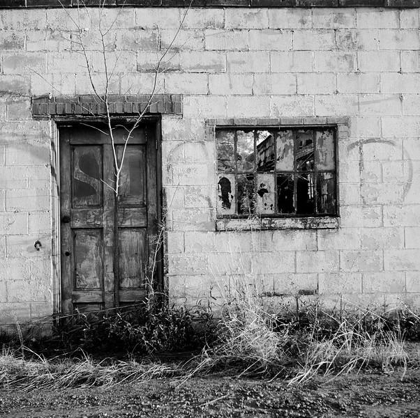 Abandoned Garage, near Macon, GA. December 2000