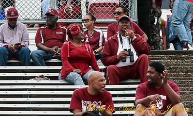 AAMU 2018 Football vs Jackson State PreGame Fans and Friends