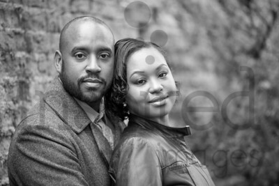 Tenika & Jermaine Engagement Shoot - Orsett Hall, Orsett