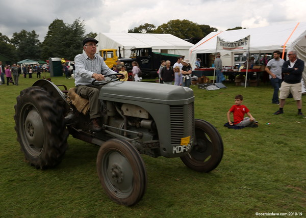 Tractors at Speech House