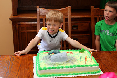 Parker's Fifth Birthday