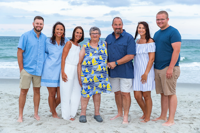 The Swinks | Family Session in North Myrtle Beach, SC