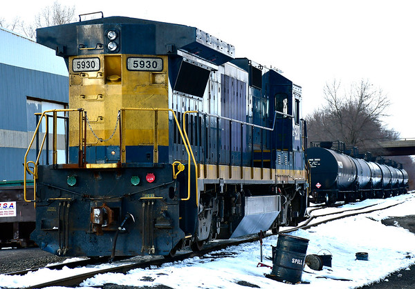 3/8/2019 Mike Orazzi | Staff The Pan Am Train Yard in Plainville on Thursday.