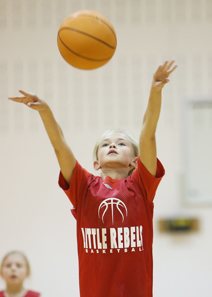 SN Girls Little Rebel Basketball vs Rensselaer 2015