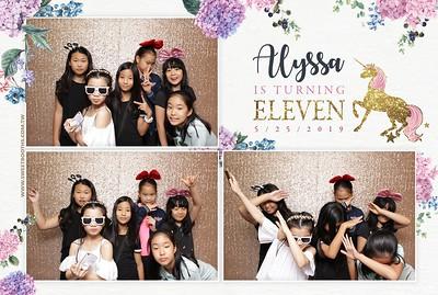 Alyssa's 11th Birthday Celebration!