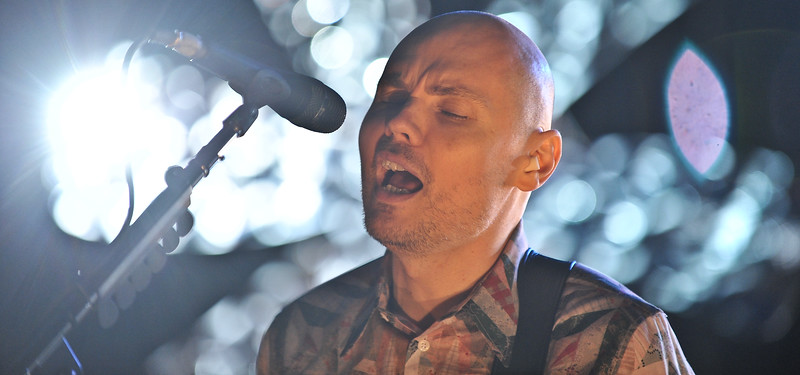 Billy Corgan, lead singer of Smashing Pumkins.