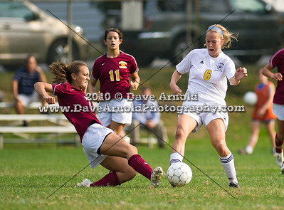 9/24/2010 - Girls Varsity Soccer - Weymouth vs Needham