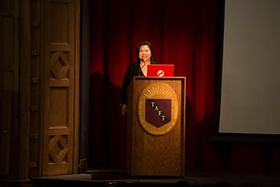 Caroline Nguyen Ticarro visits Taft