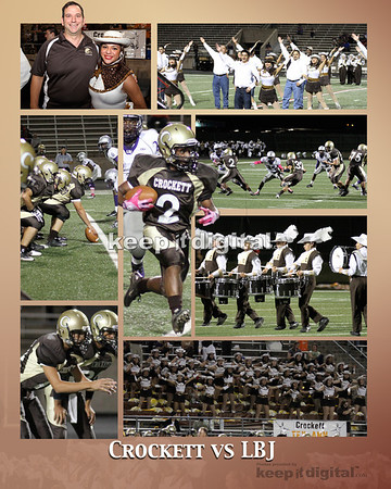 Crockett vs LBJ Football 10-13-11