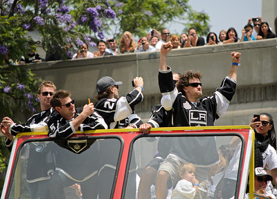 Los Angeles Kings victory parade