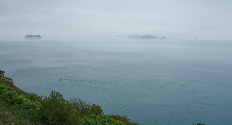 Mist, Jerbourg, Guernsey