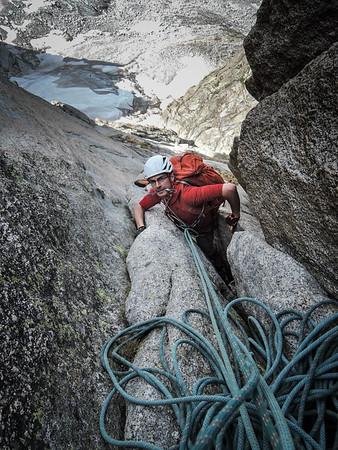 Climbing in Chamonix July 2015