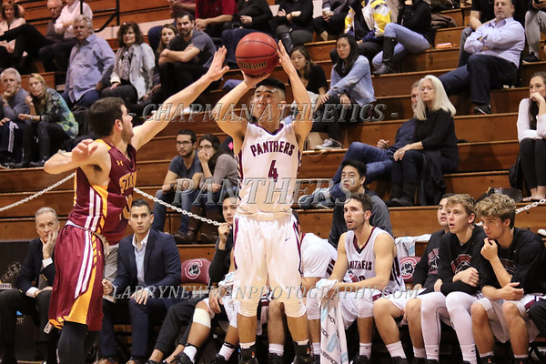 M BASKETBALL vs. Claremont-M-S 1-19-17
