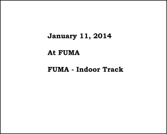 FUMA Indoor Track Invitational