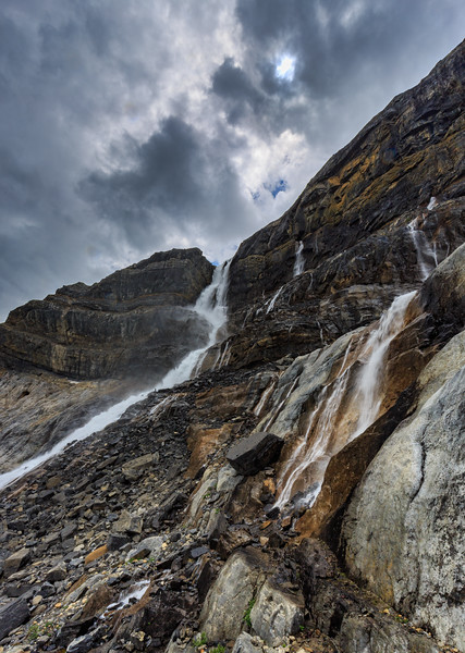 Bow Glacier Falls And Friends