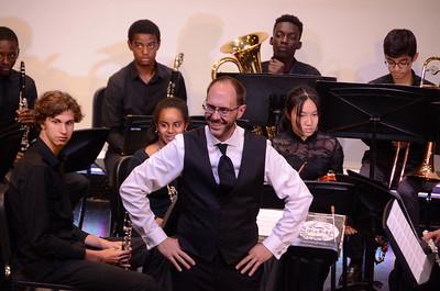 High School Choir and Band Concert