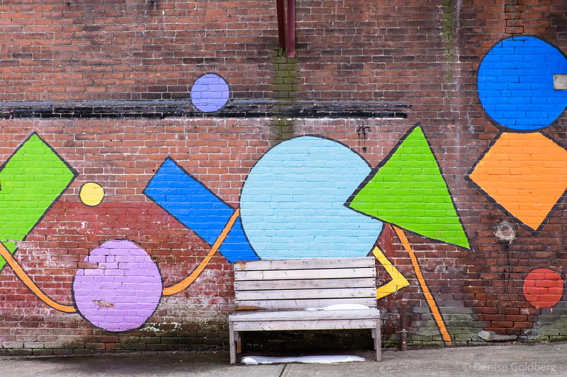 a mural, in downtown Turners Falls, MA